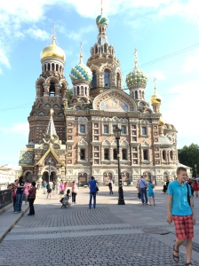 A Cathedral in St. Petersburg, Russia-my hometown.