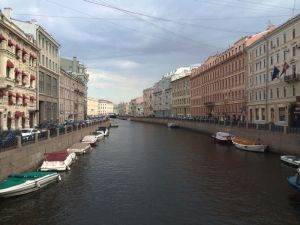 St. Petersburg, Russia canals