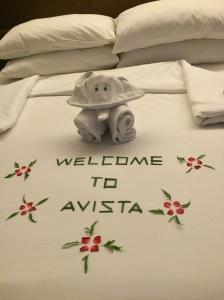 hotel, avista, nice location and nice beach